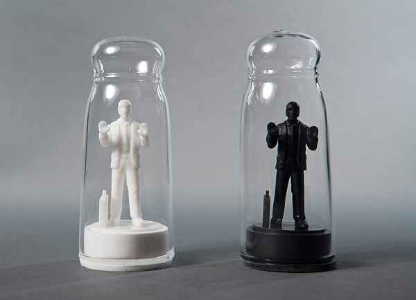 Drowning in Debt Salt and Pepper Shaker Set