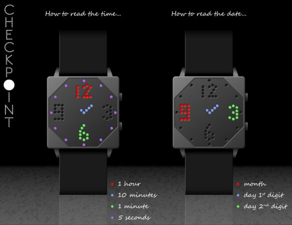 Checkpoint Watch Design