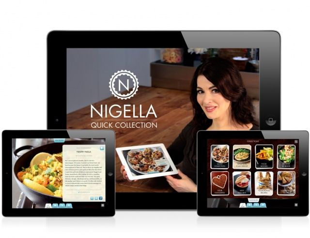 Nigella for iPad_screen