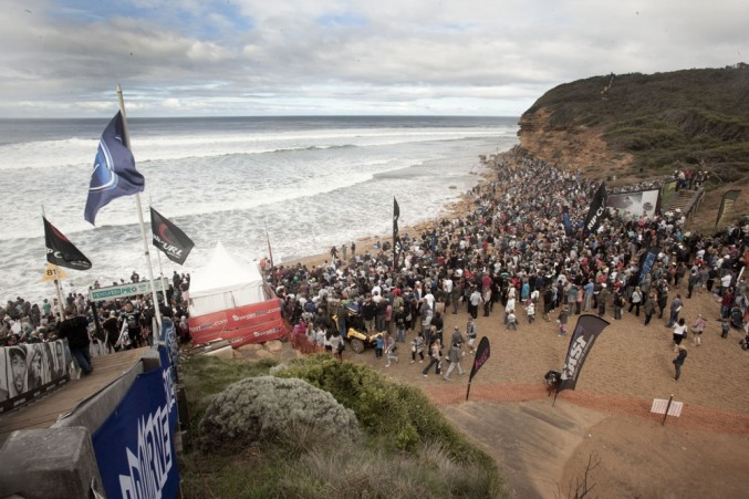 Easter Sunday brought out record breaking crowds to Bells. PHOTO: Sherman